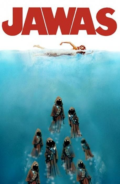 Just when you thought it was safe to travel with your droids in the water...: Geek, Nerd, Stuff, Stars, Funny, Star Wars, Movie, Starwars