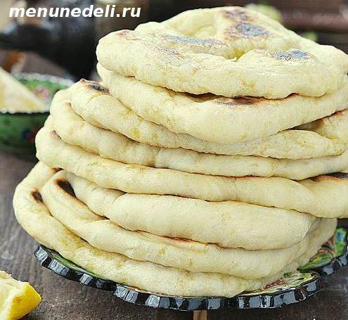 арабские лепешки на сковороде