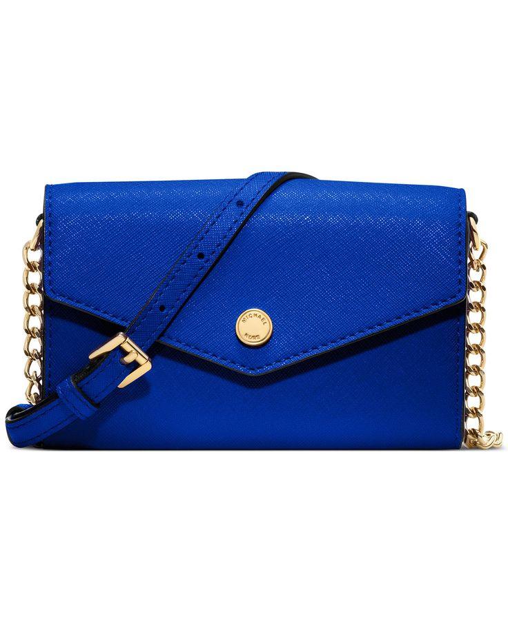 MICHAEL Michael Kors Handbag, Electronics Phone Crossbody - Handbags \u0026  Accessories - Macy\u0027s �� Michael Kors Online OutletMichael ...