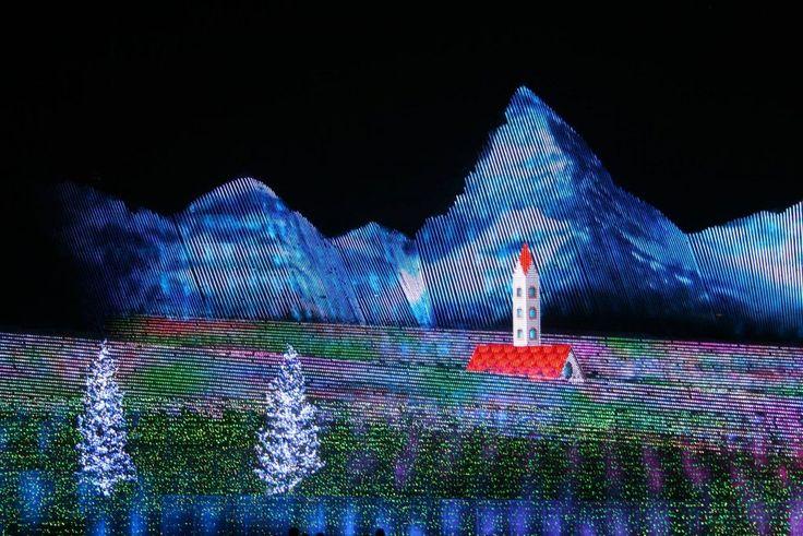 Meu Lugar: Iluminação de inverno no Parque Nabana no Sato em Mie-Ken