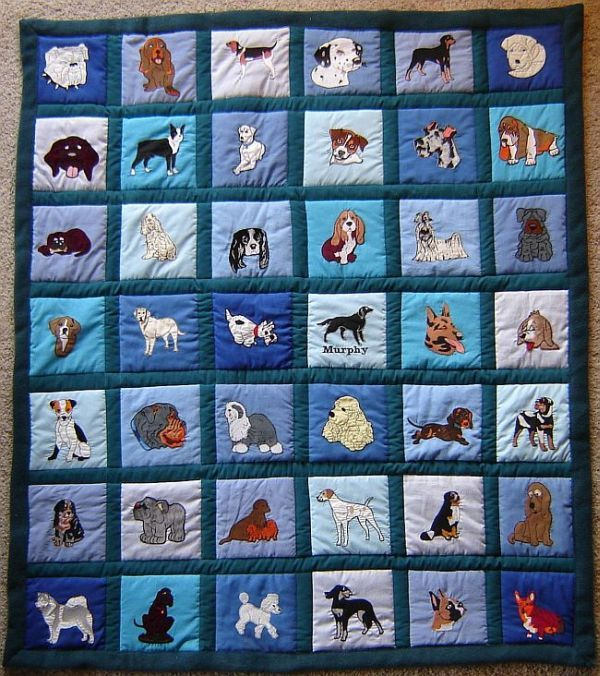 134 best Dog Quilts images on Pinterest | Animal quilts, Dog ... : theme quilts - Adamdwight.com