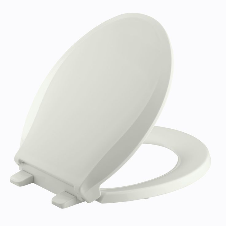 Cachet with Quick-Release Hinges Round-Front Toilet Seat