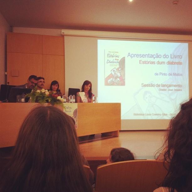 """Apresentação do livro """"Estórias dum diabrete"""", de Pinto de Matos, por José Teixeira."""