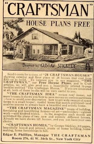 Image result for stickley bungalow craftsman home