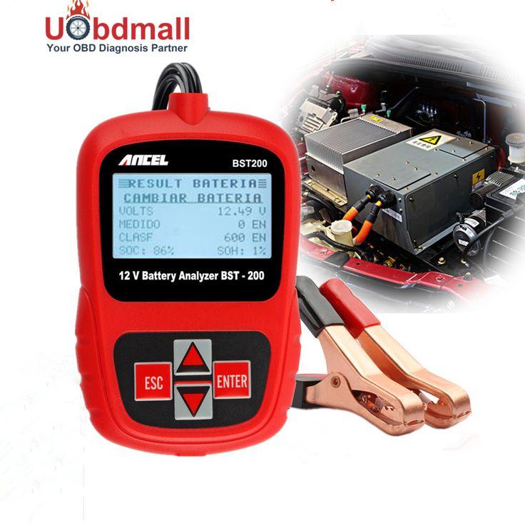 Multi Language 1100EN 12 V Akumulatora Samochodowego ANCEL BST200 Battery Analyzer Tester Wykrywa Złe Cell Narzędzie Diagnostyczne