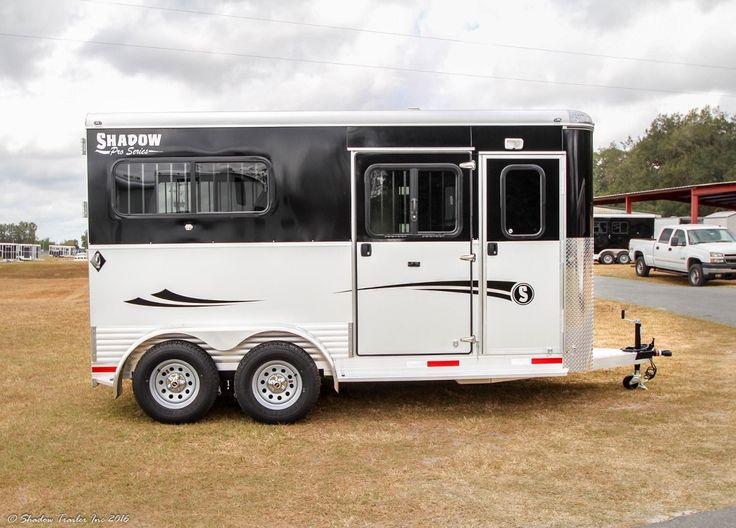 2017 Shadow Pro Series 2H Straight BP Escape Door Horse