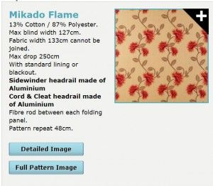 Mikado Flame http://www.madetomeasureblinds-uk.com/blog/2015/02/08/marsala-is-a-warm-choice-for-colour-of-the-year-but-use-sparingly-to-complement-your-room/