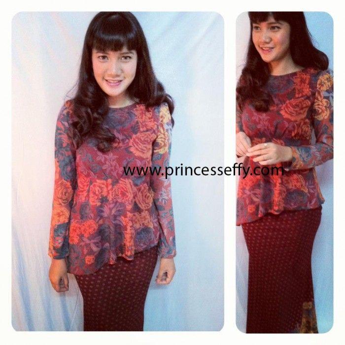 Baju Kurung Moden - Dewi (Batik)