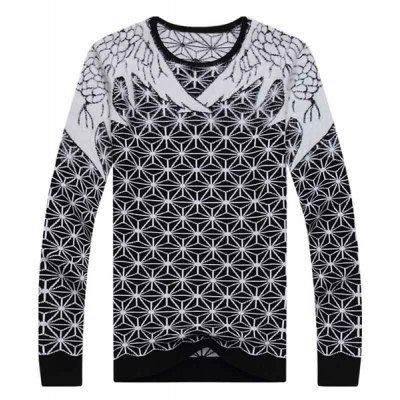 Type: Pullovers  Material: Polyester, Wool  Sleeve Length: Full  Collar: Round Neck  Technics: Computer Knitted  Style: Fashion  Weight: 1KG  Package Contents: 1 x Knitwear  SizeBustLengthShoulder WidthSleeve Length M88624160 L92644261 XL98664362 2XL102684463