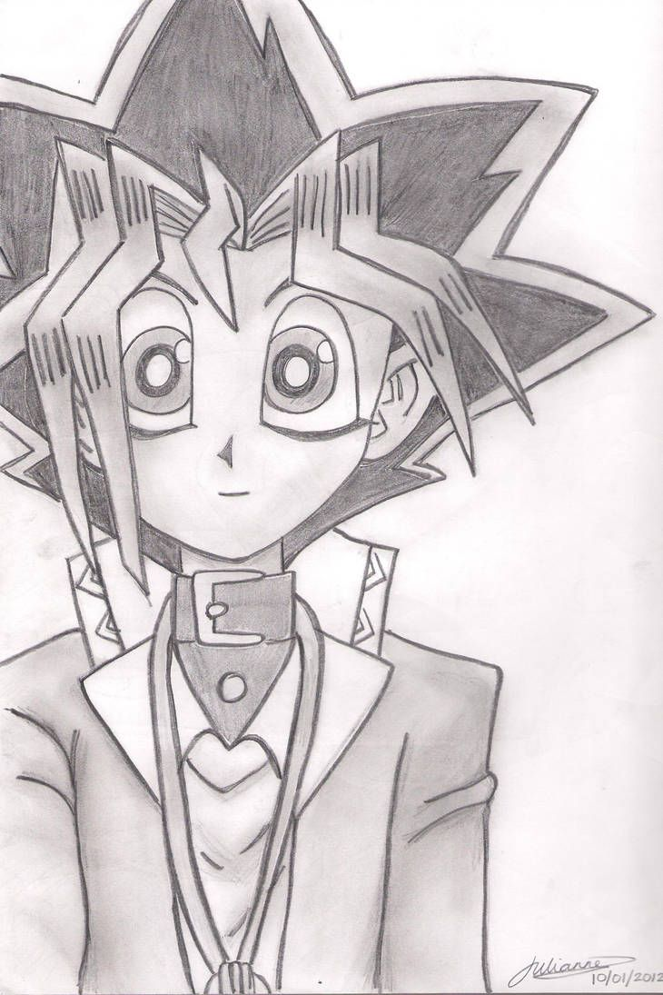 yugi yu gi muto oh drawings yugioh anime manga deviantart