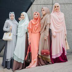 Dah pilih ke tuu nak yang mana satu? Raudha Kurung only RM 199 untill 31hb ni