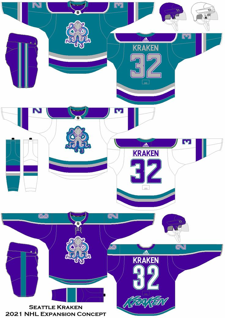 Uniform concept for the Seattle expansion team beginning