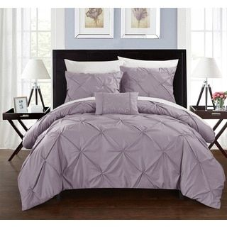 Shop for Chic Home 4-Piece Whitley Lavender Duvet Cover Set. Get free shipping at Overstock.com - Your Online Fashion Bedding Outlet Store! Get 5% in rewards with Club O!