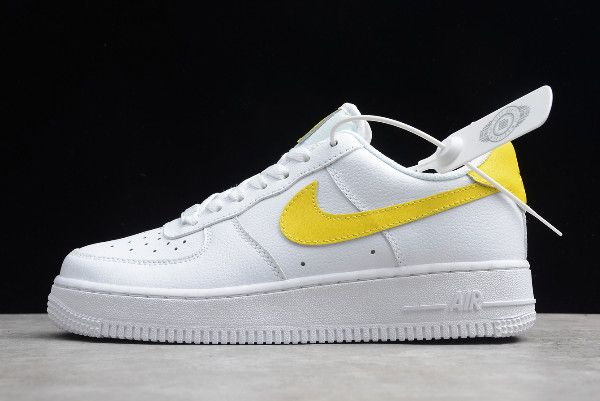 Nike Air Force 1 07 Lv8 Para Mujer White Yellow Women S Size Jd1070 48 Nike Air Force Nike Air Nike Air Force Ones