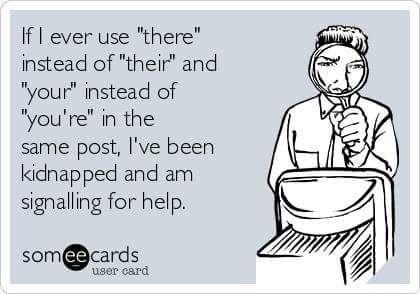 Or I've been hacked! #grammar #language #lol
