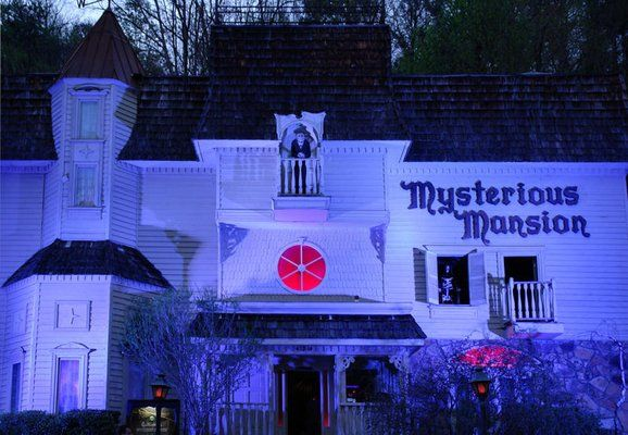 Have A Ghoulish Good Time At The Mysterious Mansion In Gatlinburg: If you enjoy thrills, chills and being scared out of your pants, a visit to the Mysterious Mansion in Gatlinburg is in order. Located on River Road, this Gatlinburg attraction is the perfect setting in which to encounter an assortment of ghosts, ghouls and other creatures in an atmosphere of darkness and delight. Follow the link to read more! #scaryfun    #gatlinburgfun