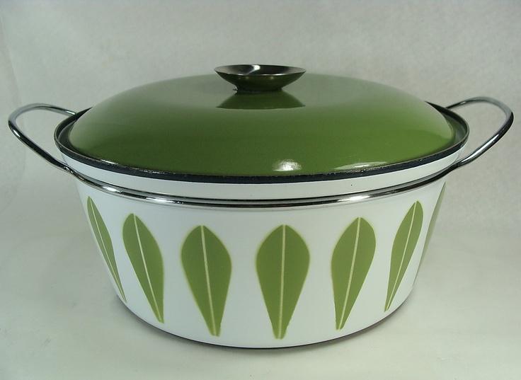 Cathrineholm Lotus Enamel Pot: Lotus Enamels, Cathrineholm Lotus, Enamels Pots, Yard Sales, Enamelware Please, Start Collection