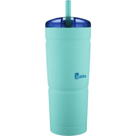 bubba Envy S Stainless Steel Tumbler, 24 oz, Island Teal, Blue
