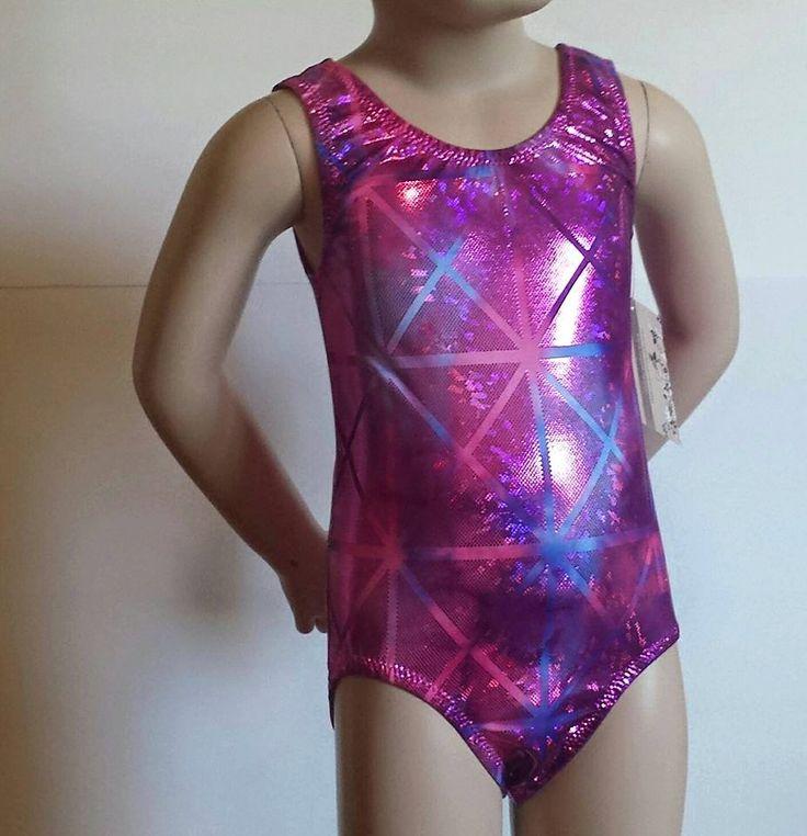 Metallic Tie-Dye Leotard for Gymnastics and/or Dance  #hologram #kids #teen #girl #gymnastics #leotard #shine #sparkle #glitterleos