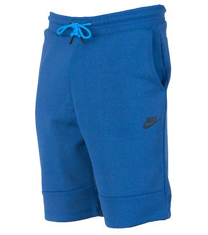 NIKE Tech shorts Sweatpants material Elastic waistband Adjustable drawstring 2 side pockets 2 back pockets NIKE swoosh logo on front