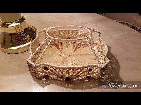 "Мастер класс "" изготовление каркаса для шкатулки"" - YouTube"