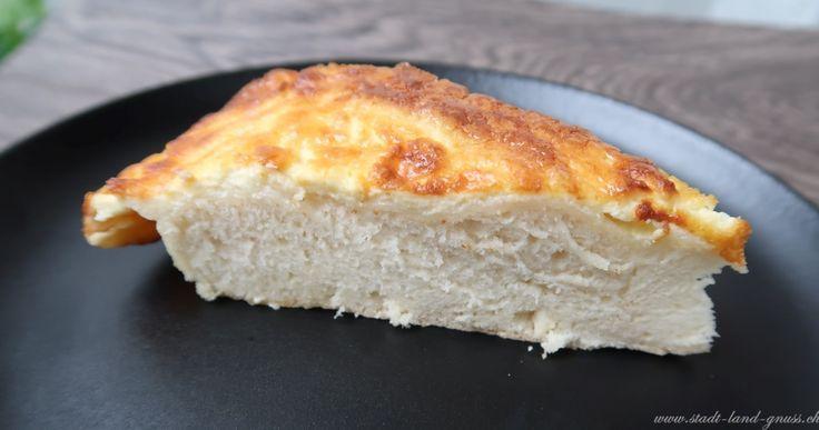 Toétché Rezept für einen jurassischen, salzigen Rahmkuchen. Perfekt zu einem Apéro.