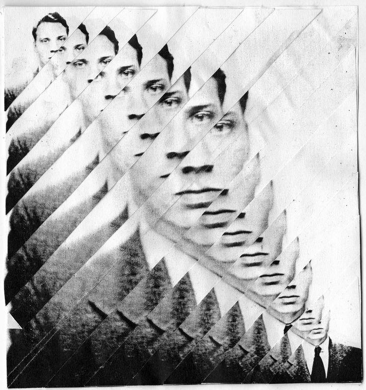 "crudevessels: "" Kim Morley ""Fragmented Collage #1"" 2010 """