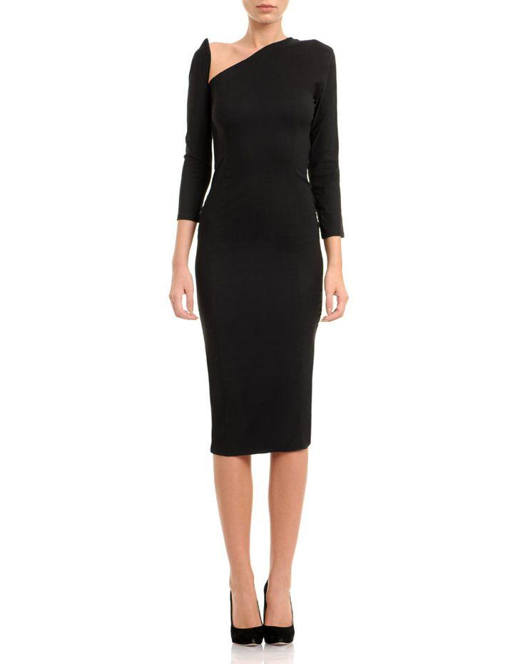 Cut-Off Silk Satin Dress #VCut #cutOffdress #Silkdress #silk #silkSatin #Dress