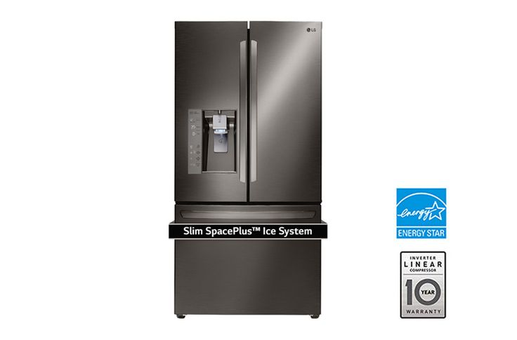 The Stainless Steel French Door Refrigerator offers the most shelf space than other products. Learn more about this LG refrigerator and find yours in Canada.