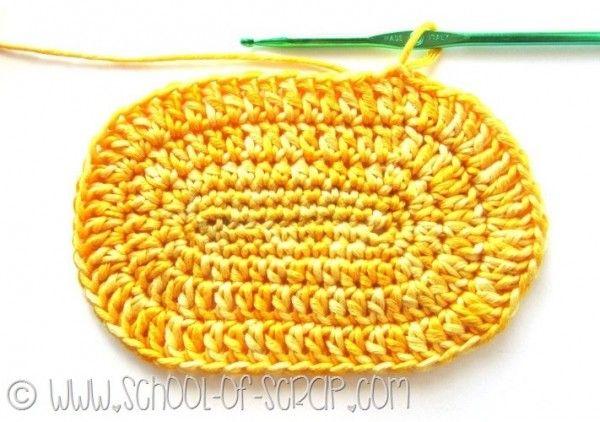 Scuola di Uncinetto come fare un ovale perfetto a crochet