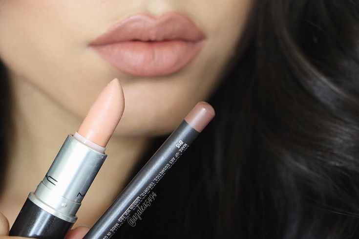 """MYTH lipstick || STRIPDOWN lip pencil  @maccosmetics                                                                                                                                                                                 More"
