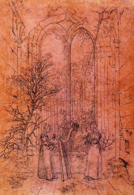 Caspar David Friedrich - Allegory of Profane Music
