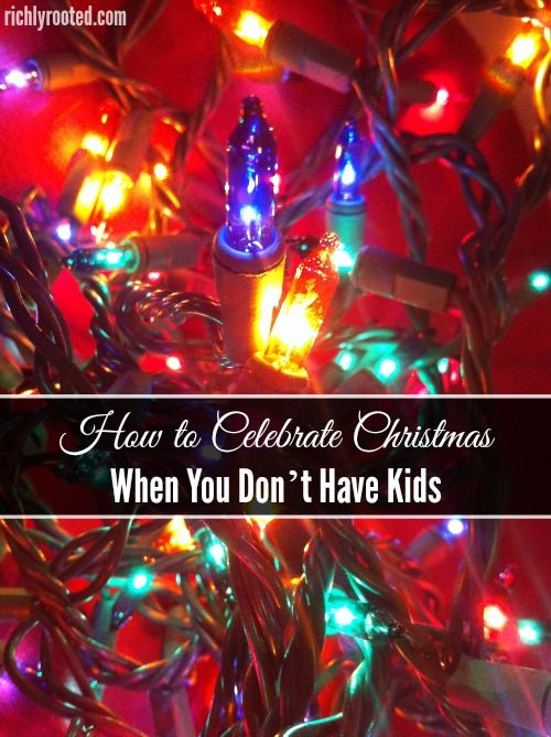 Here are some simple, special ways to celebrate Christmas...no matter how big your family is! We don't have kids yet, so these are ways that we love to enjoy the holiday!