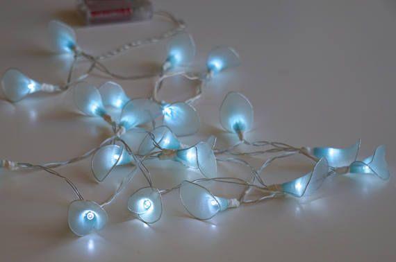 Flower Fairy Lights Calla Lily string lightsLED Battery