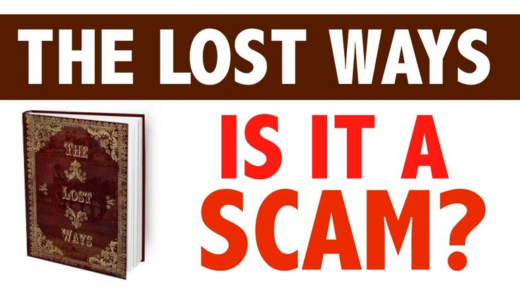Is The Lost Ways Scam? Watch This Book Review The Lost Ways!