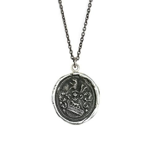 Pyrrha :: Handcrafted using authentic wax seals and imagery from the Victorian era, Pyrrha talismans protect, celebrate and inspire the wearer.
