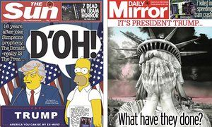 The world's newspapers react to Trump's election victory   US news   The Guardian