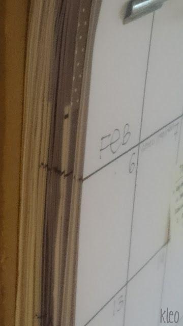 kleo: mój ulubiony kalendarz