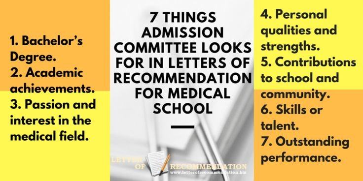 49+ Medical school recommendation letter format ideas in 2021