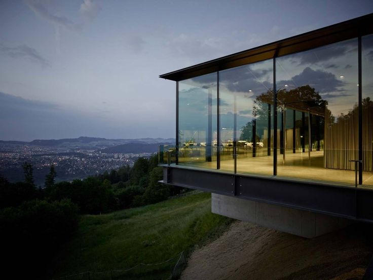 "Gurten Pavilion by :mlzd ""Location: Gurtenkulm, 3084 Köniz, Switzerland"" 2014"