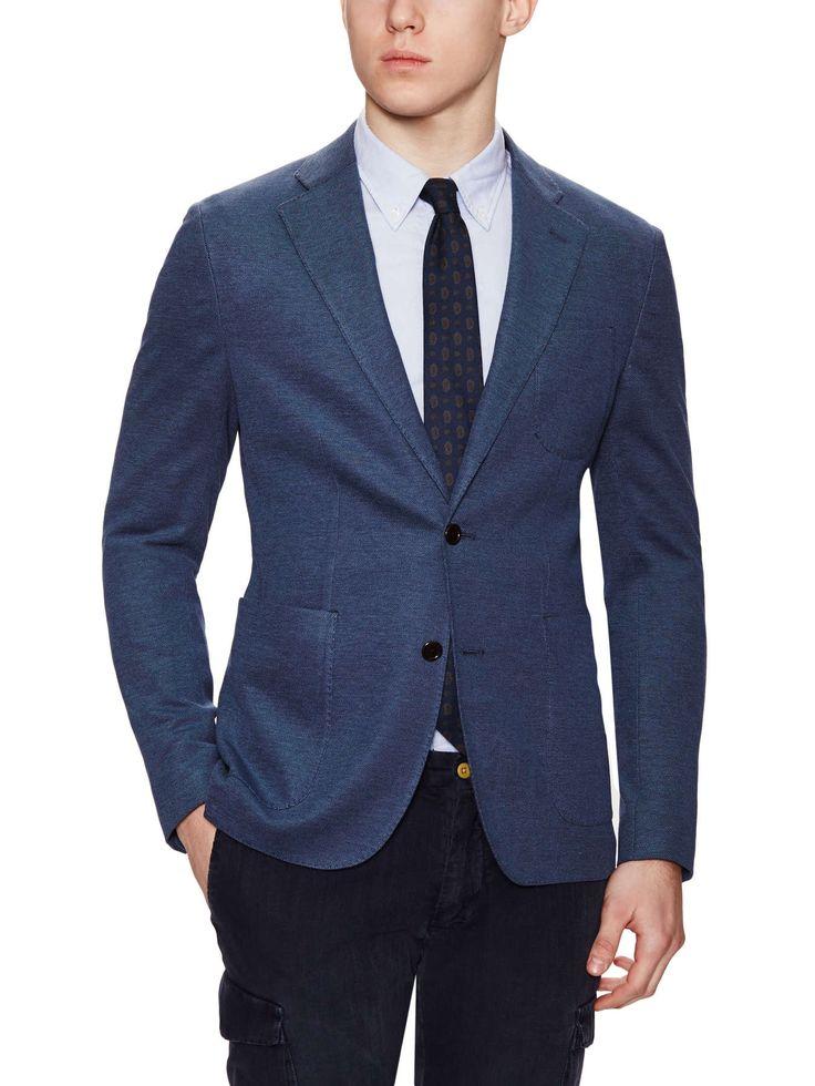 Hardy Amies — Birdseye Cotton Blazer on daiiily.com (until 04/04/2015 on Gilt)