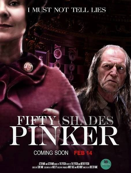 """Harry Potter Fifty Shades Pinker """"I must not tell lies"""" Umbridge & Filtch, now that's a slash fic!"""