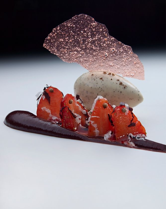 Love the delicate approach by The Fat Duck - well captured by photographer DOMINIC DAVIES