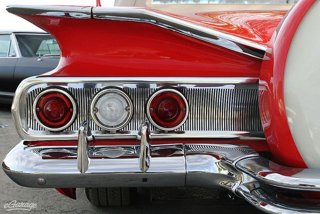 Cheap Old Muscle Cars >> 1960 Chevy Impala tail lights by eGarage.com, via Flickr | old cars and trucks | Pinterest ...