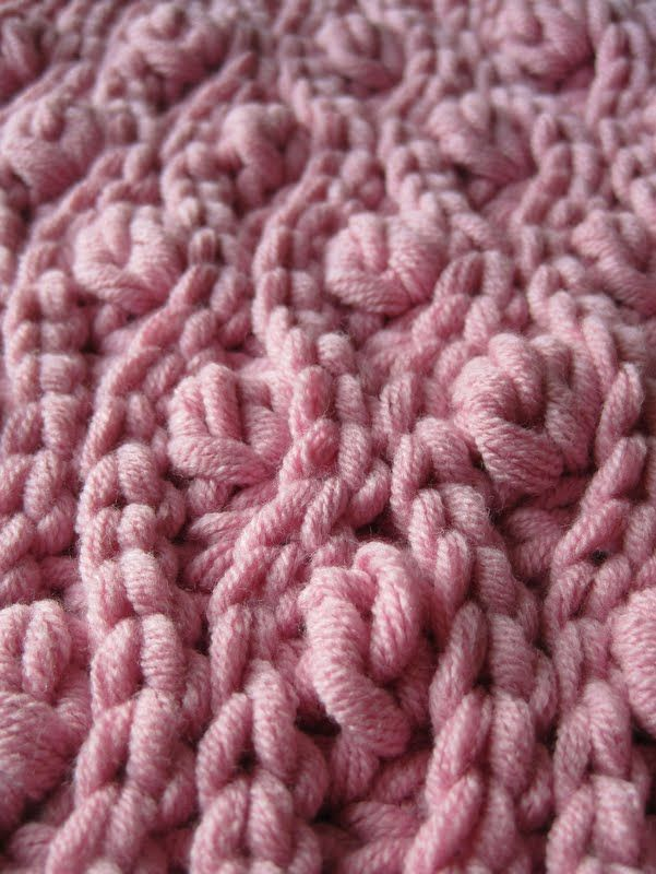 Ribbon berry crochet #crochet #stitch #technique #baby #blanket #throw #afghan