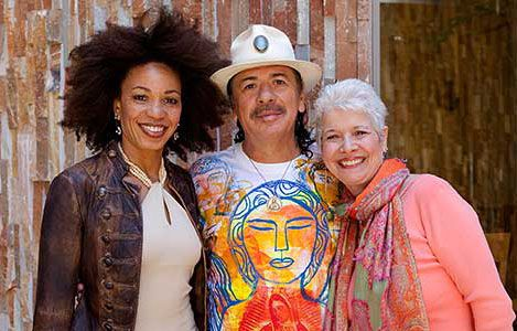 Carlos Santana love and kissing compilation @ www.wikilove.com