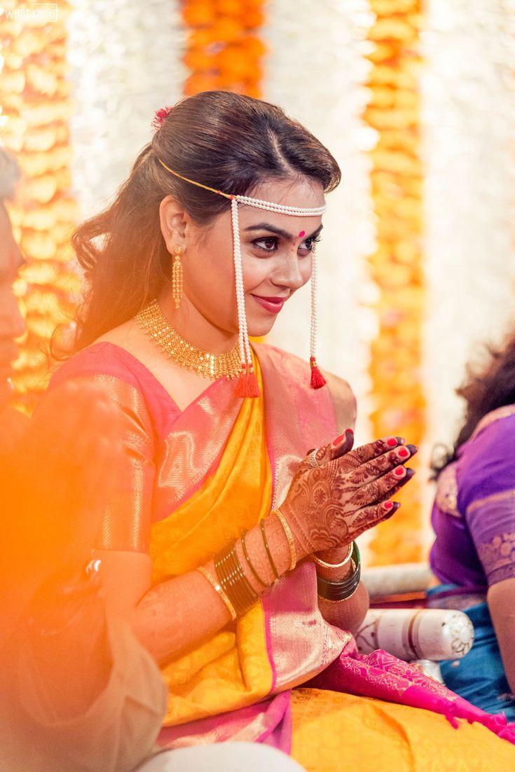 Maitreyi's yellow saree looks like a hit!