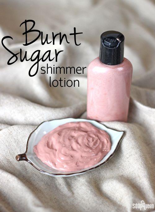 Burnt Sugar Shimmer Lotion Recipe