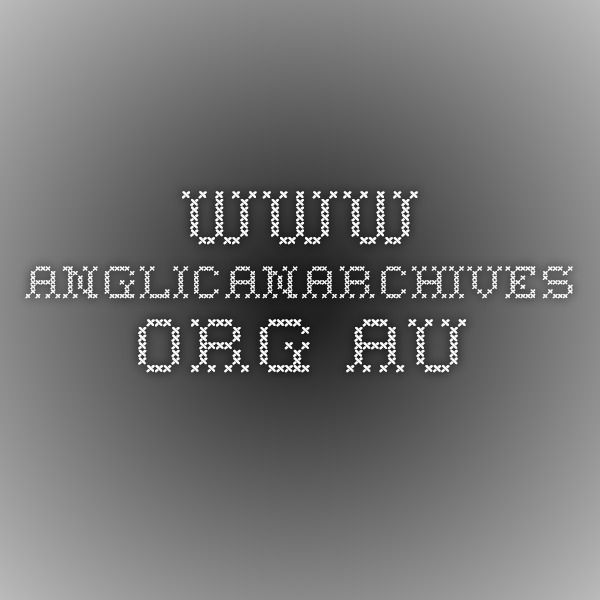 Anglican Archives