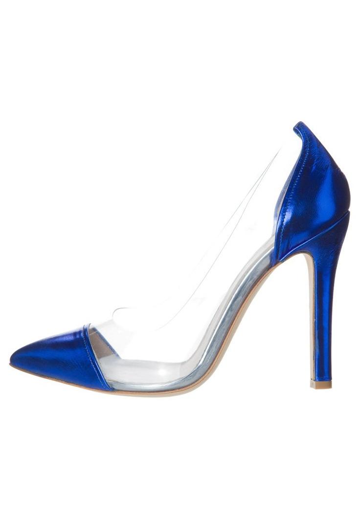 Oxitaly - Høye hæler - blå